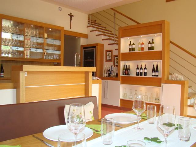 Weinverkostungsraum innen
